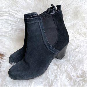 Sam Edelman Layla bootie black suede shoes